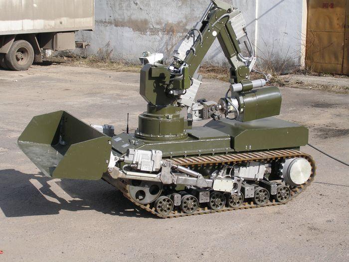 Как втанке: боевой робот мчс