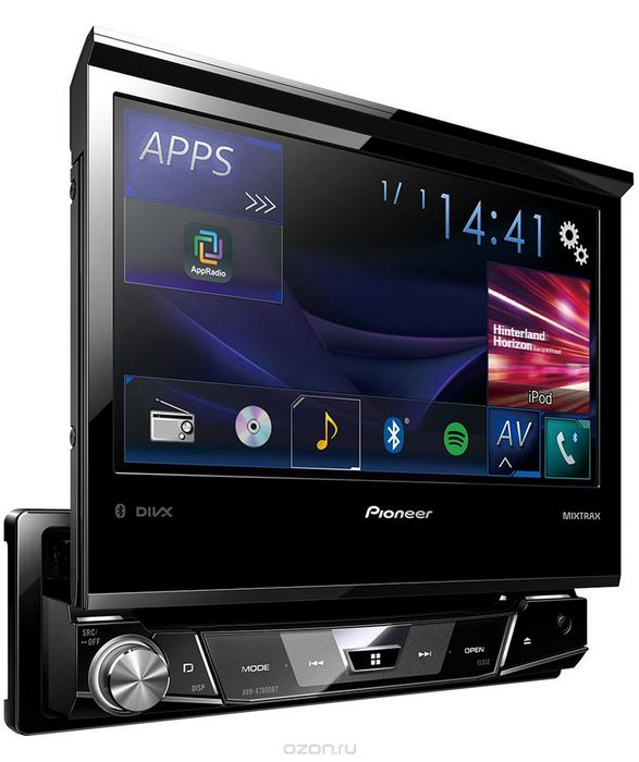 Как выбрать мультимедийную систему: pioneer avh-x8700bt