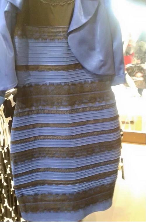 «Какого цвета платье?»