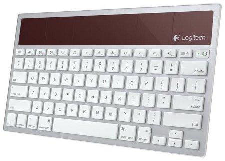 Клавиатура с солнечной батареей от logitech