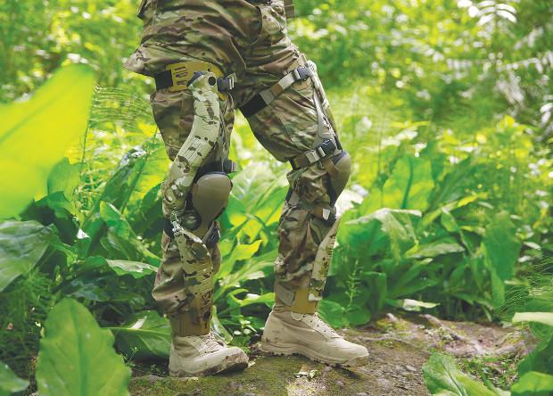 Колени американских солдат превратят в электрогенераторы