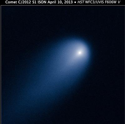 Комета ison – стремительное приближение к солнцу