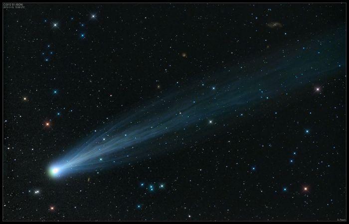 Комета ison – время наблюдений и исследования