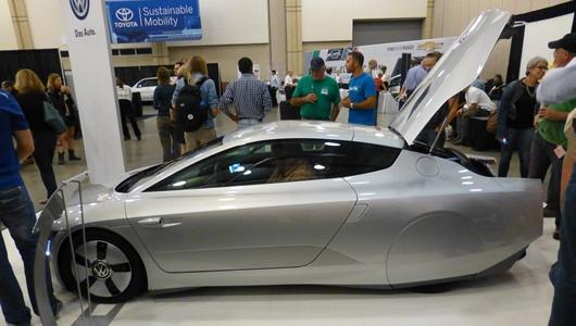 Компания volkswagen показала новый гибрид с поразительным расходом 0,9 литра на 100 километров