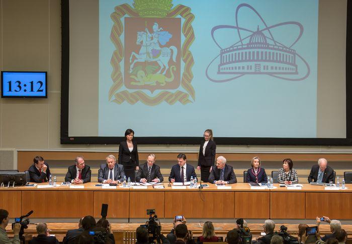 «Курчатовский институт» и объединенный институт ядерных исследований подписали соглашения о сотрудничестве