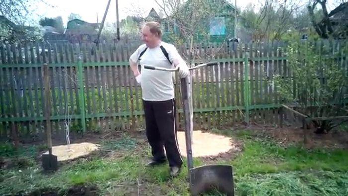 Лопата спиноразгрузочная «вятский пахарь»