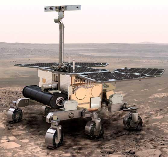 Марсоходы: первый пошёл, второй готовится