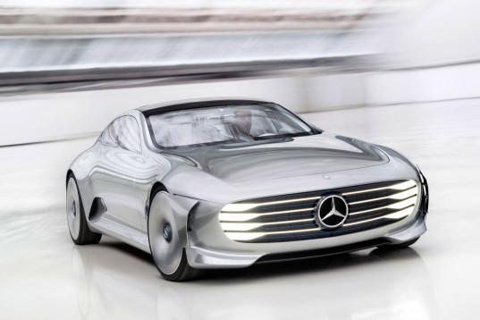 Mercedes-benz представляет гибридный автомобиль, который может трансформироваться на высоких скоростях