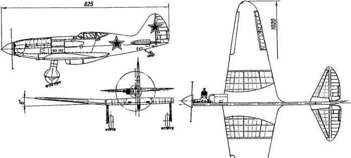 Миг-3: летающий контур