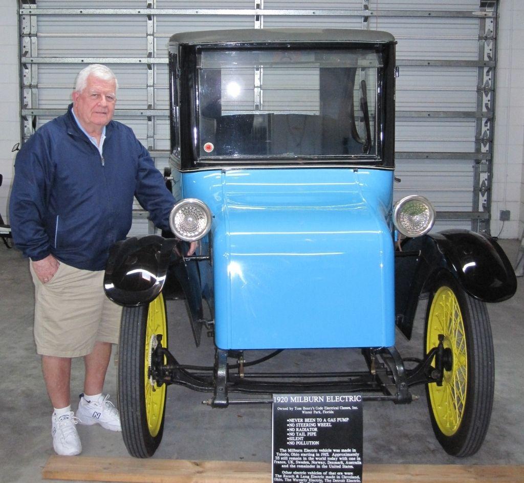 Milburn – электромобиль со сменной батареей из 1920 года