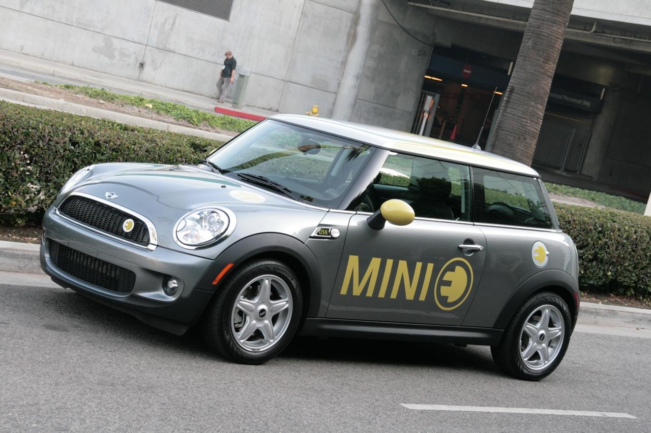 Mini e: первая фаза полевых испытаний электромобиля bmw завершена в лондоне