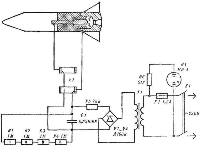 Модель плазменного двигателя