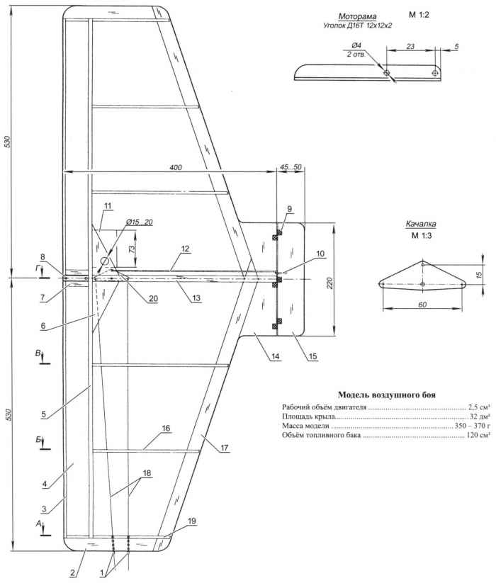 Модель воздушного боя
