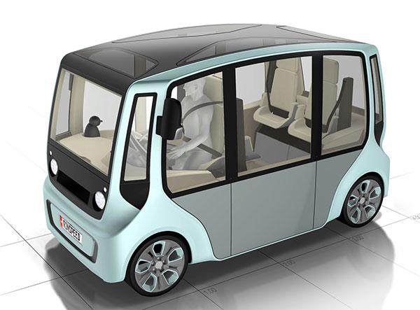 «Мой, твой, ваш» городской электромобиль micromax