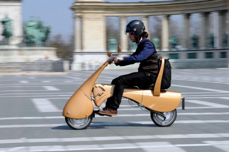 Moveo - раскладной электрический скутер