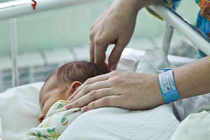 На украине родился ребенок от трех родителей