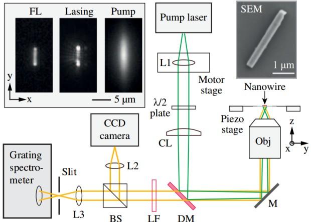 Нанолазеры смогут обойти дифракционный предел в микроскопии