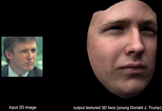 Нейросеть научилась превращать одиночную фотографию в трехмерную модель