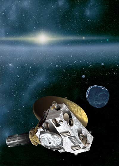 «New horizons»: 500 дней полета до плутона