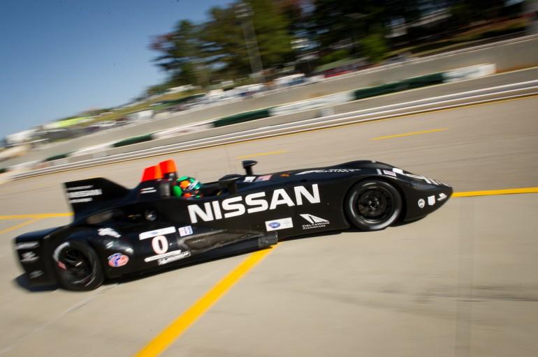 Nissan deltawing уменьшает углеродный след гонок indycar