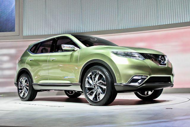 Nissan представляет концепт hi-cross – полноприводный гибрид-внедорожник