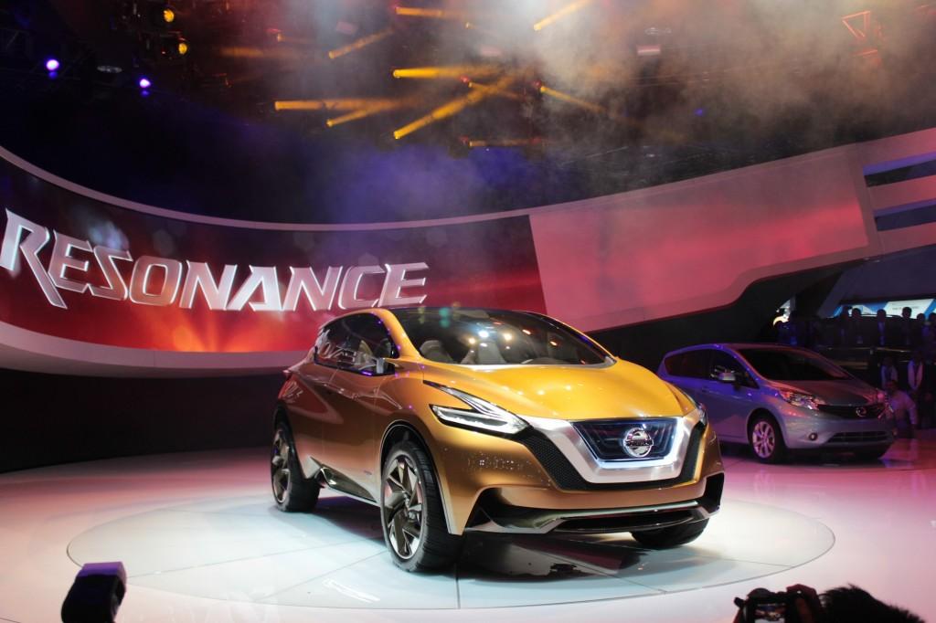 Nissan resonance concept – гибридный кроссовер, устремленный в будущее