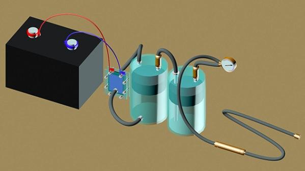 Новая система получения водорода из воды