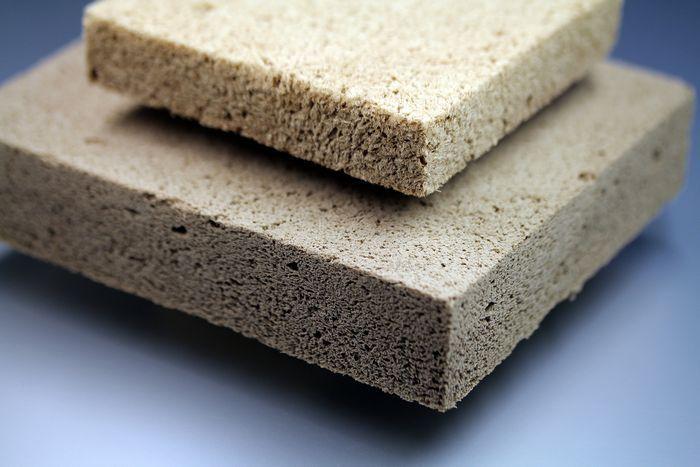 Новый теплоизоляционный материал из вспененной древесины