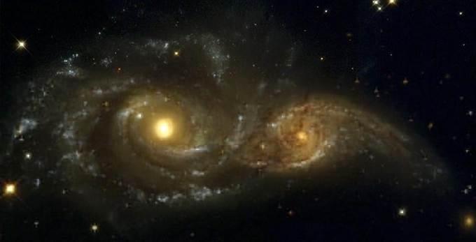 Обнаружены умирающие звездные системы