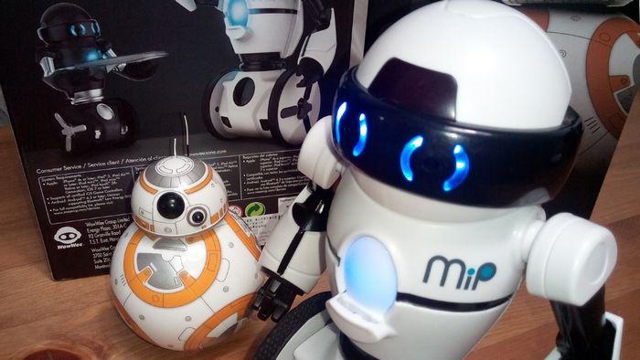 Обзор робота для детей wowwee mip