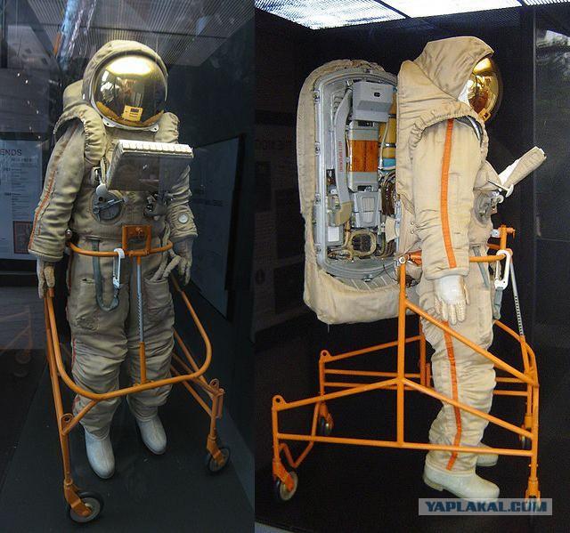 Одежда для вакуума: как устроены космические скафандры