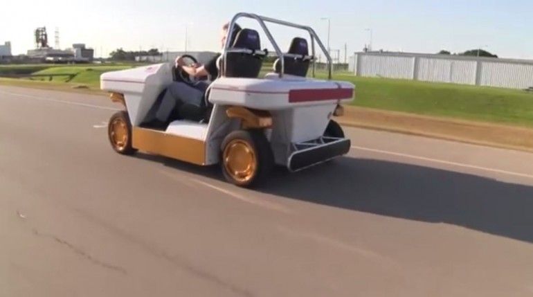 Один из самых впечатляющих автономных автомобилей принадлежит наса