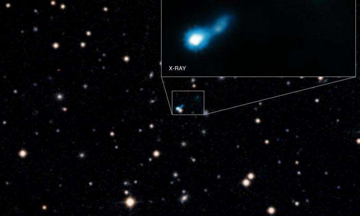 Огромные дыры в теории большого взрыва