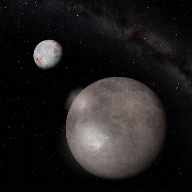 Органические соединения на краю солнечной системы