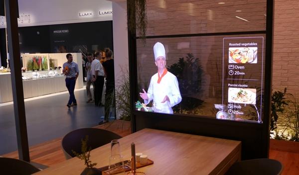 Panasonic на ifa 2016: прозрачный телевизор и дома будущего