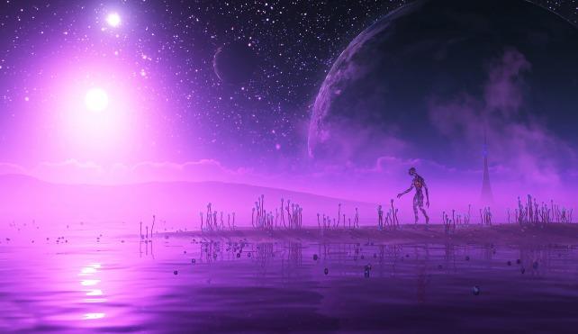 Первые инопланетяне, которых мы встретим, будут пурпурными