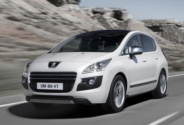 Peugeot готовит к выпуску 3008 hybrid4 – первый дизельный гибрид