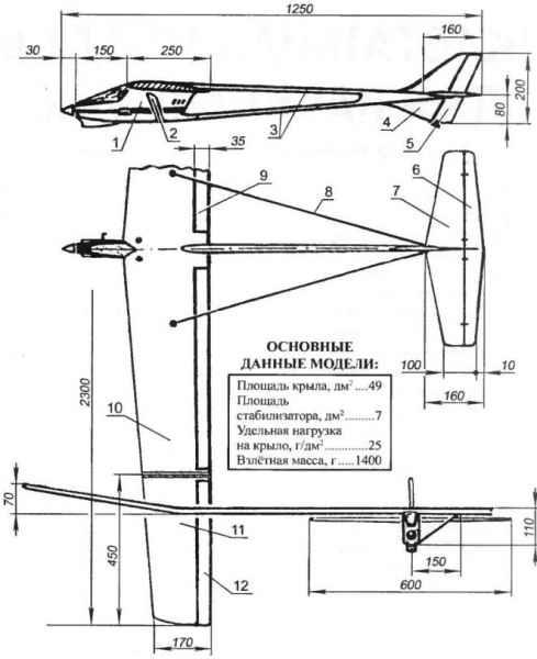 Пилотажная модель для начинающих