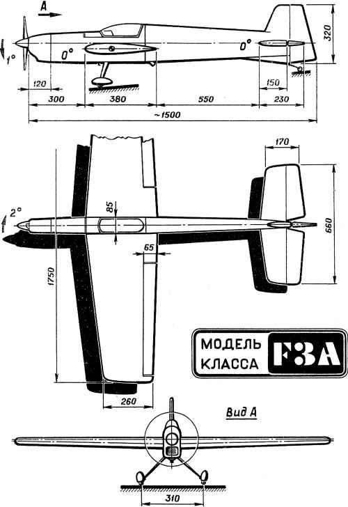 Пилотажная, радиоуправляемая