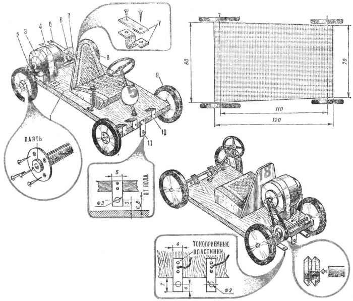 Пионерские автогонки