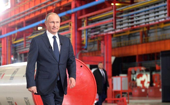 Предприятие белой металлургии «этерно» запустило производство уникальной для российского рынка импортозамещающей продукции. в церемонии принял участие президент российской федерации владимир путин