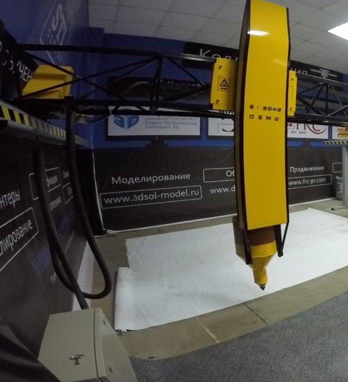 Презентация первого отечественного строительного 3d-принтера