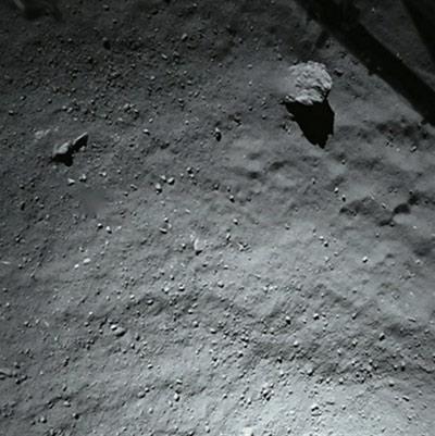 Приключения «филы» на поверхности ядра кометы