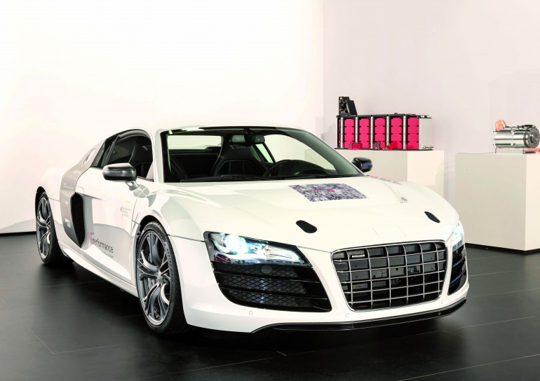 Прототип audi all-electric f12 «e-sport» - платформа для электромобилей будущего