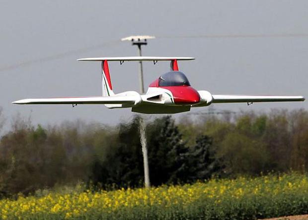 Радиоуправляемые модели научат голландцев пилотировать новые самолеты