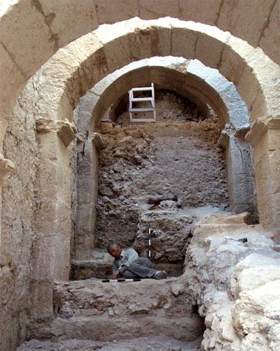 Раскрыт вход в дворец ирода