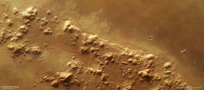 Разгадана тайна органических молекул с марсианского метеорита