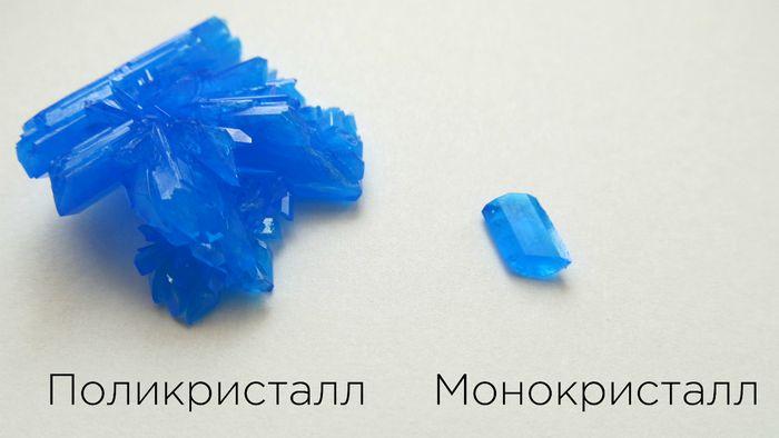 Реакции в кристалле