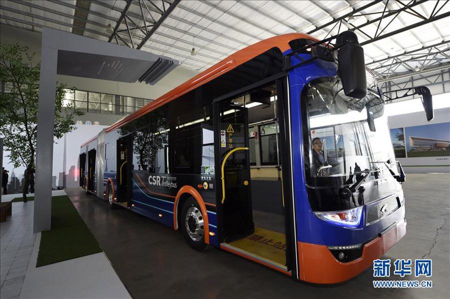 Рекордное время зарядки электроавтобуса - 10 секунд