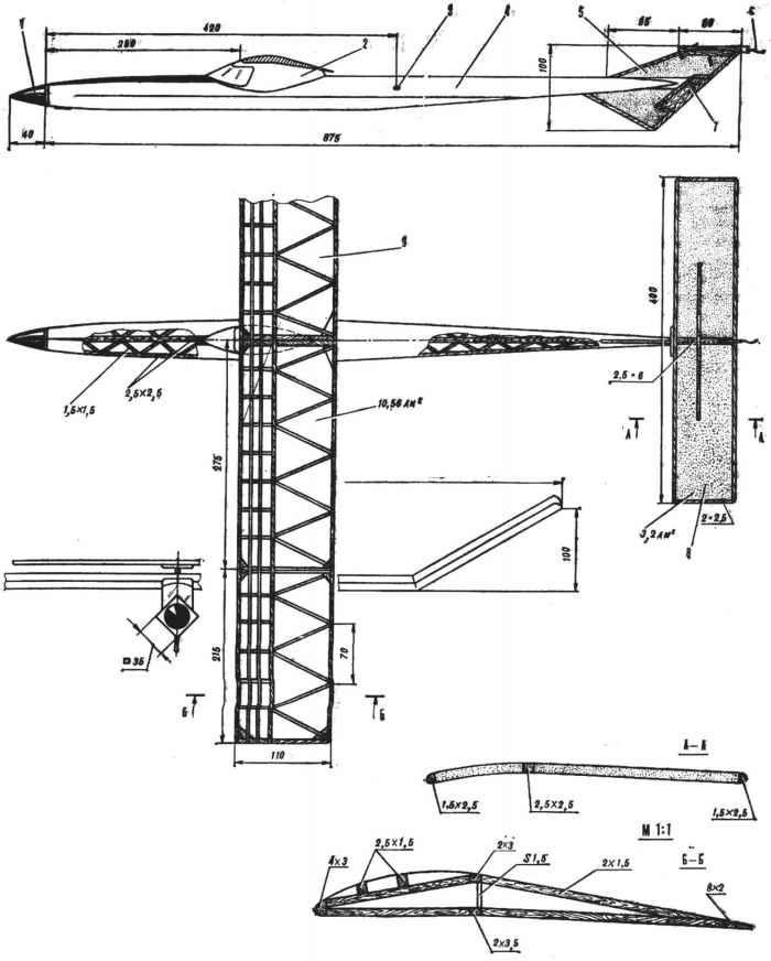 Резиномоторка набирает высоту